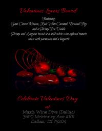 Valentines Dinner Flyer