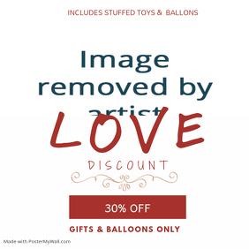 Valentines Discount Instagram Template