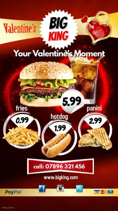 Valentines Event Restaurant