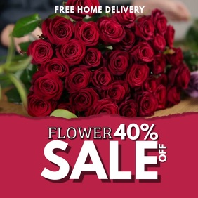 Valentines Flower Sale Video Template