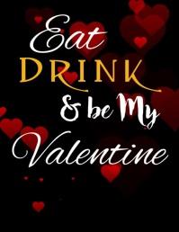 valentines flyer,romantic,event flyers