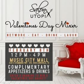 VALENTINES FLYER Instagram Post template