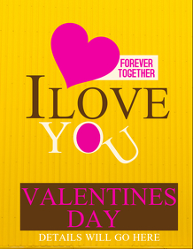 Valentines flyers,Event flyer template,valentines retail