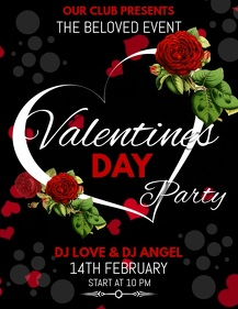 valentines flyers,event flyers,party flyers