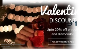 Valentines Jewelry Discount Video Template