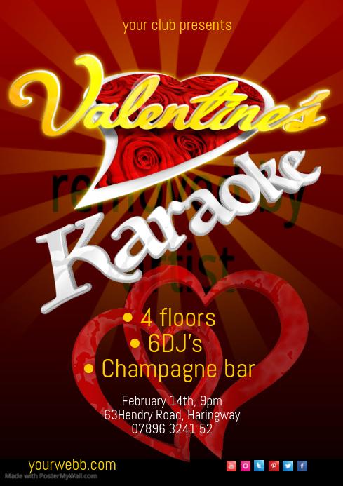 Valentines karaoke1