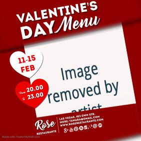 valentines menu insta
