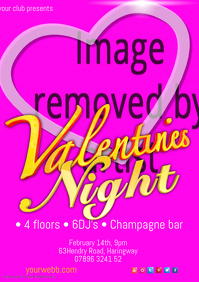 Valentines Night Poster