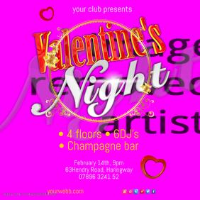 Valentines Night Flyer