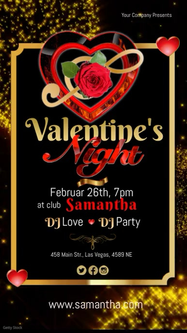 valentines night video1