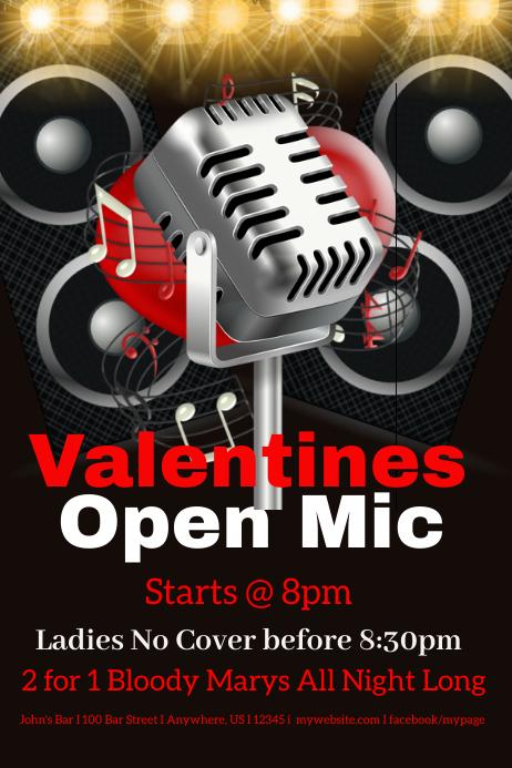 Valentines Open Mic Night