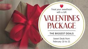 Valentines Package Deal Digital Display Template