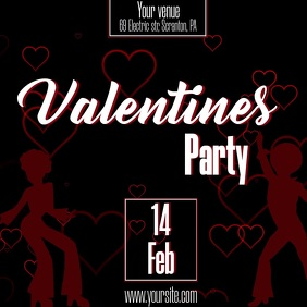 valentines party club video ad