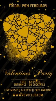 Valentines Party Event Template