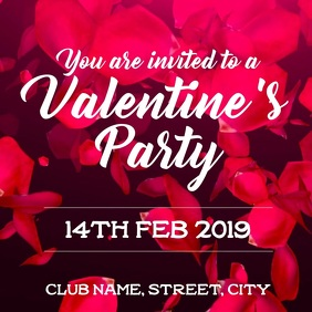 Valentines party invite
