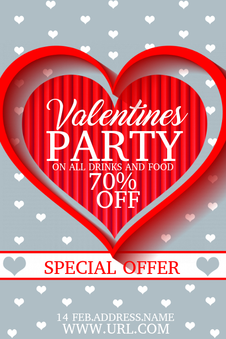 valentines party templates,event flyers,party flyers
