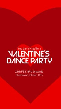 valentines party template