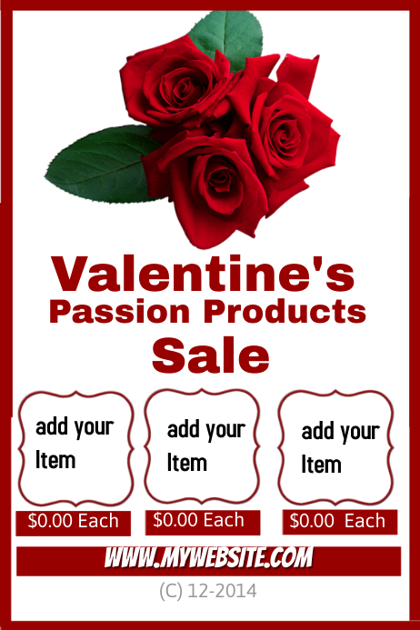 Valentines Passion products