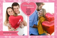 Valentines Photography Mini Session Tatak template