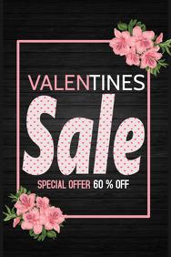 Valentines poster,Event flyer,Valentines retail