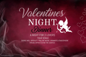 Valentines poster template,Event poster templates