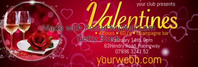 Valentines Posterfb1