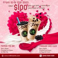 Valentines Promo Instagram Plasing template