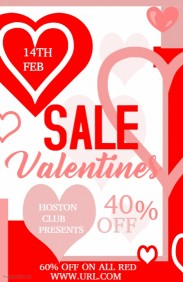 Valentines retail,Event flyer,Party flyer