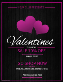 valentines retail flyer template,event flyer,retail flyers