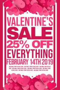 Valentines Retail Poster