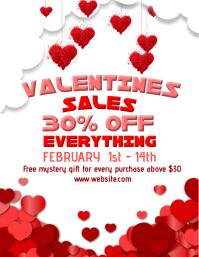 Valentines Retail template