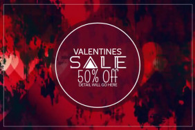 Valentines retail video template,Event video template