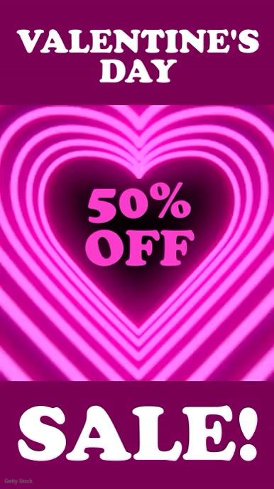 Valentines sale
