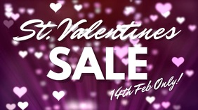 Valentines Sale Digital Template