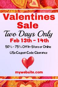 Valentines Sale Event Template