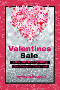 Valentines Sale Event Template