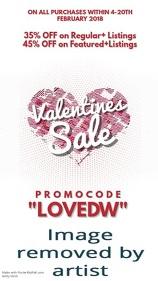 Valentines Sale Vertical Video Template