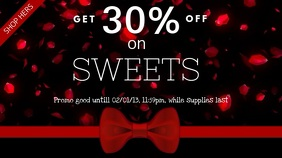 Valentines Sale Video Ad Template