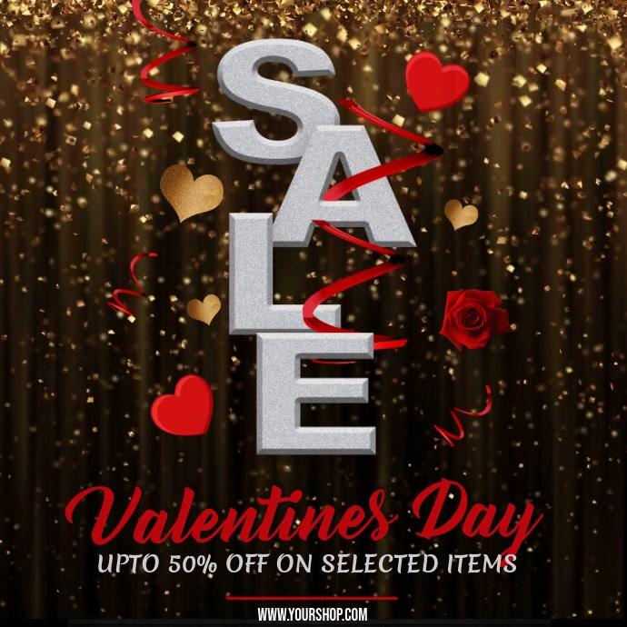 Valentines sale video