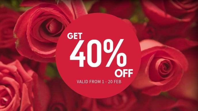 Valentines Sale Video Template