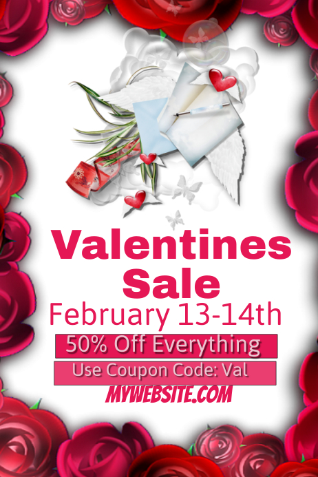Valentines Sales Event Template