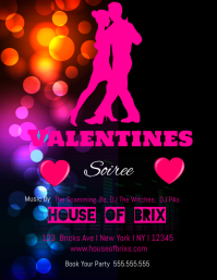 Valentines Soiree Party Template