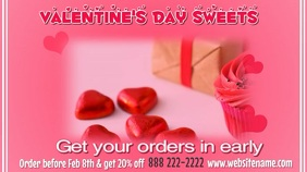 Valentines Sweets Video Display