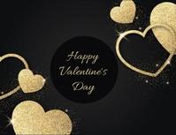 Valentines Template Flyer (format US Letter)