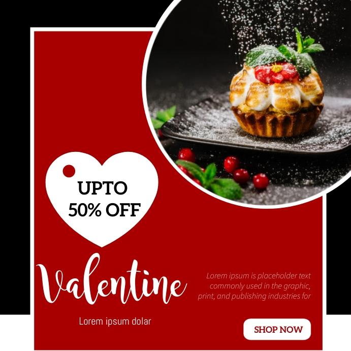 Valentines Template Vierkant (1:1)