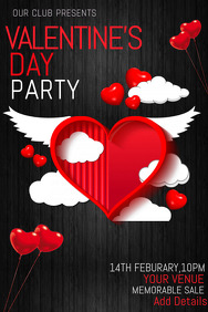 Valentines templates,event templates,party templates