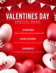 Valentines templates,menu templates,event templates