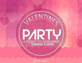 valentines video flyers,party video flyers,event flyers