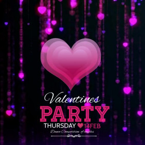 Valentines video template,Event video, party video template