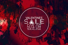 Valentines video template,event video template,retaileve